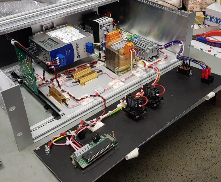 Plasma-Zündquelle Prototyp innen