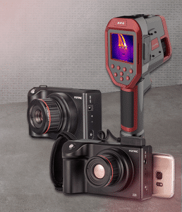 Overview FOTRIC products: Thermal imaging cameras FOTRIC 225, FOTRIC 228 and FOTRIC 3226