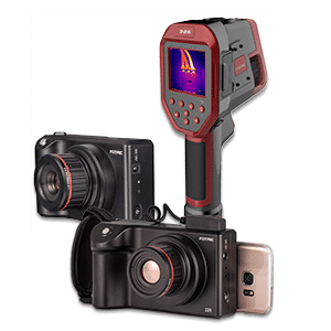 New now! FOTRIC thermal imaging cameras