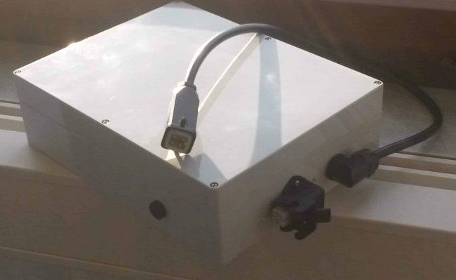 Unterbrechungsfreie Stromversorgung für Lagerlogistiksystem