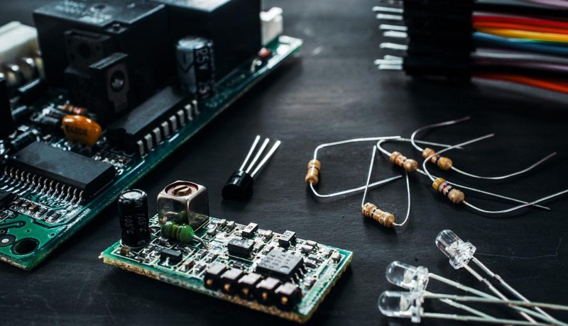 Komponenten aus der Elektronikentwicklung